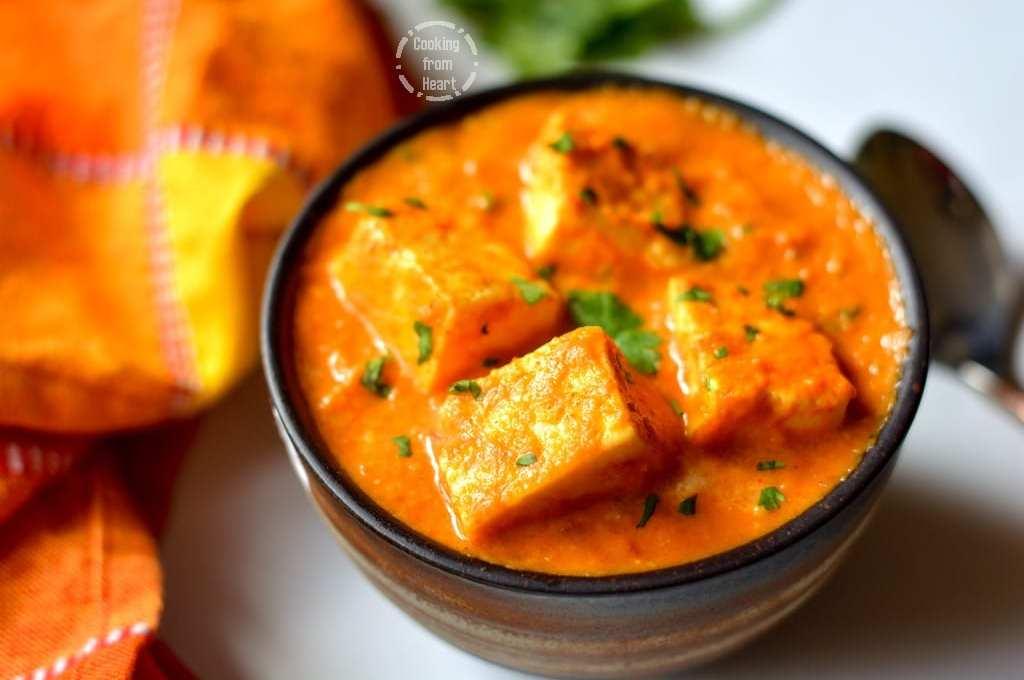 Paneer Makhani | Restaurant Style Paneer Makhani
