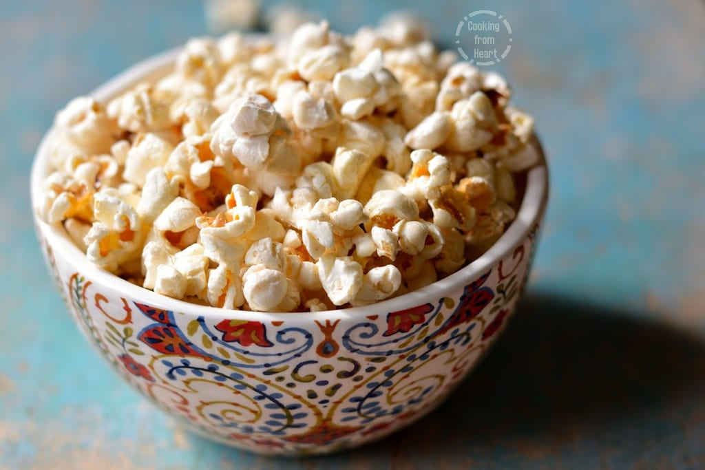 Homemade Butter Popcorn