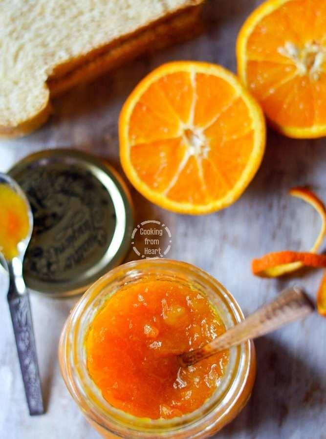 Homemade Orange Marmalade