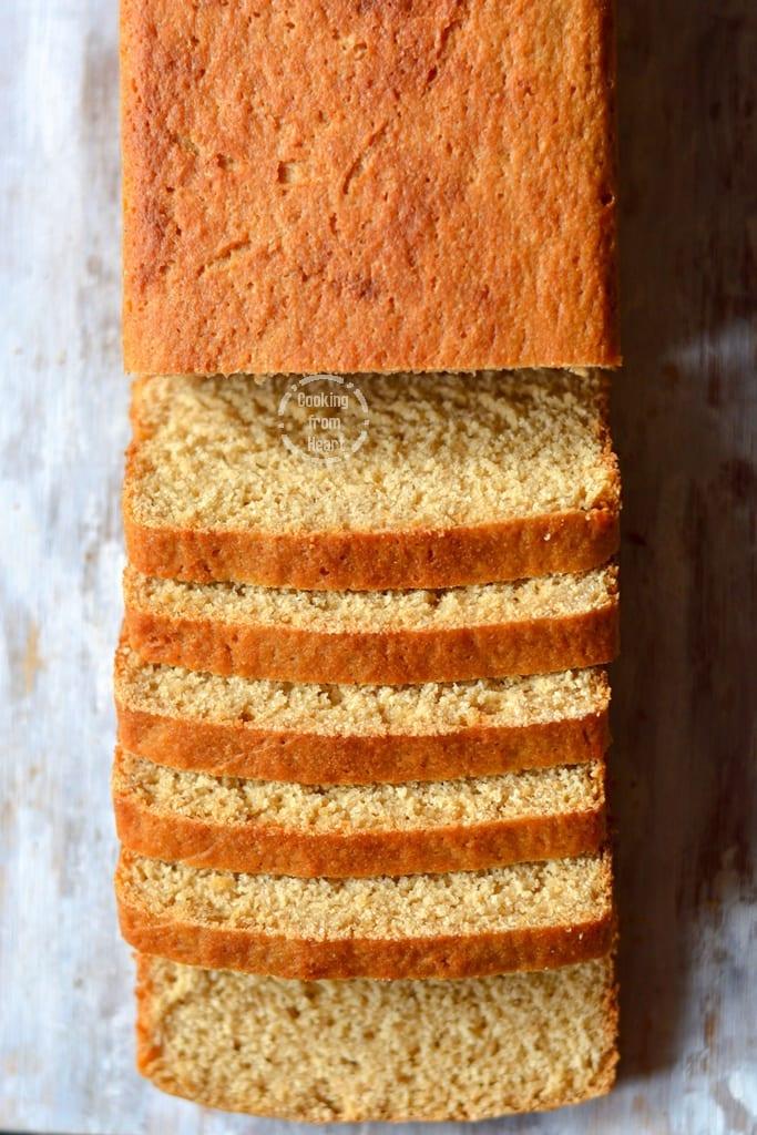 Homemade Brown Bread | 100% Whole Wheat Bread