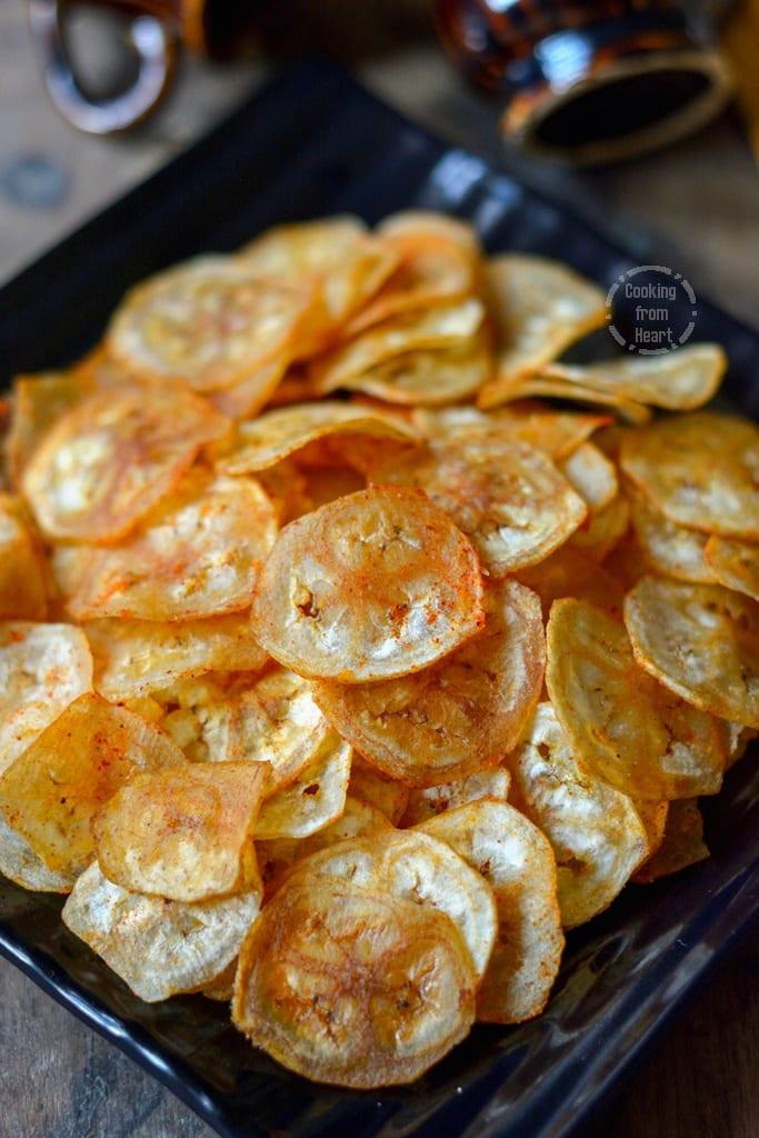 Vazhakkai Chips | Homemade Raw Banana Chips