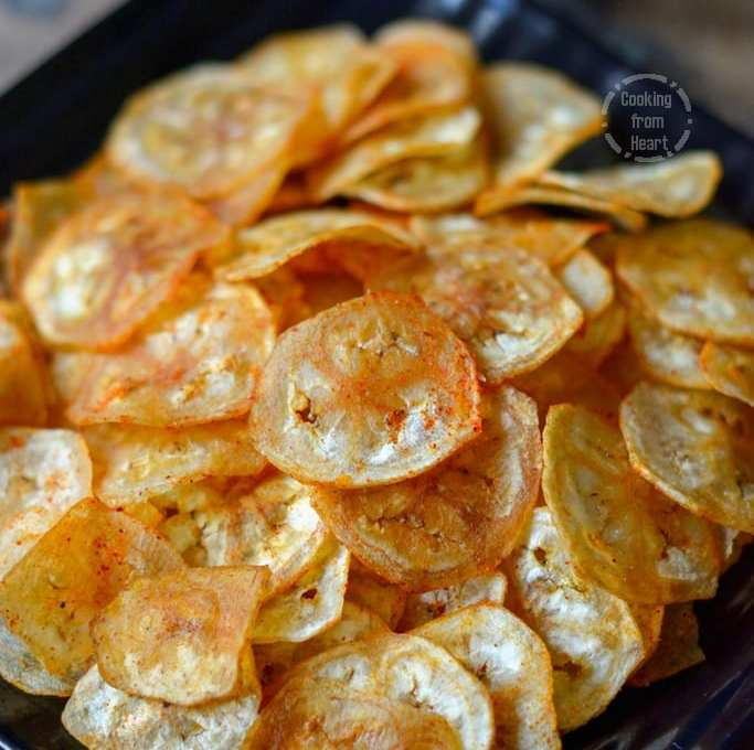 Vazhakkai Chips | Homemade Raw Banana Chips
