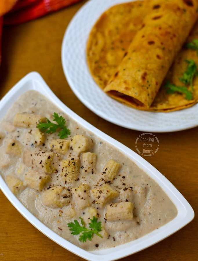Baby Corn Kalimirch | Baby Corn Pepper Gravy