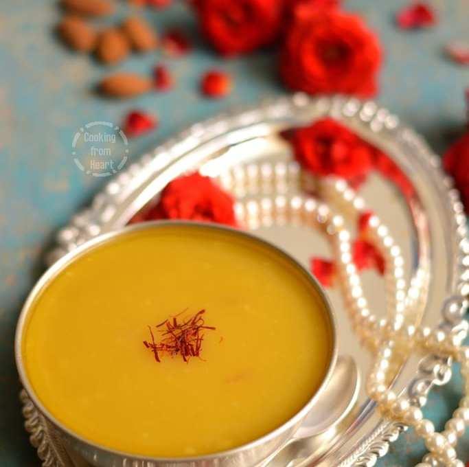 Badam Halwa | Easy Badam Halwa Recipe | Almond Halwa