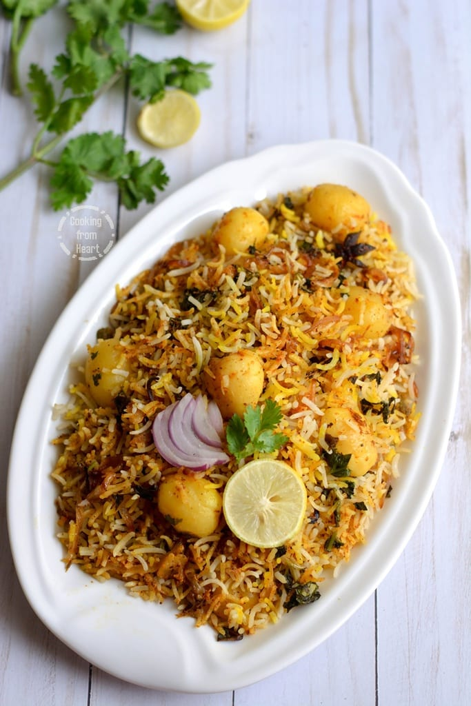 Easy Oven made Dum Biryani recipe