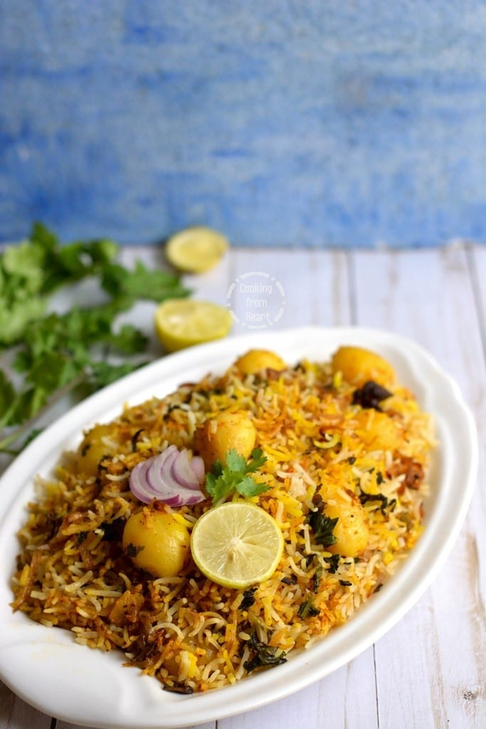 Hyderabadi Dum Biryani recipe in Oven