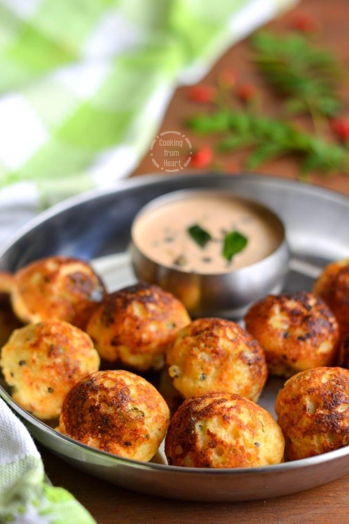 Vegetable Paniyaram