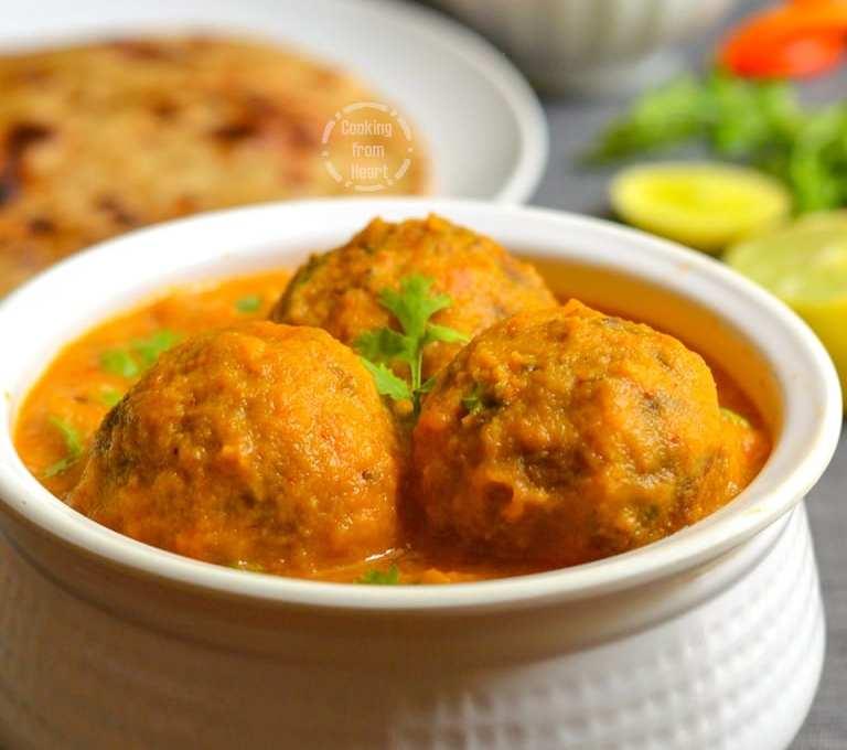 Lauki Kofta Curry | Bottle Gourd Kofta Curry