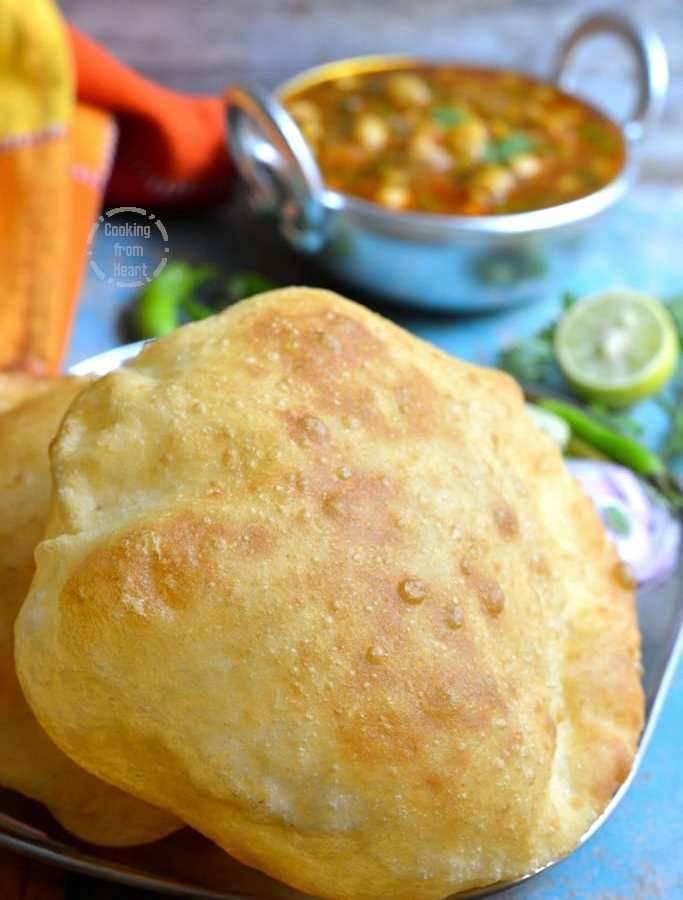 Bhatura | Bhature | Bhatura in Chole Bhatura