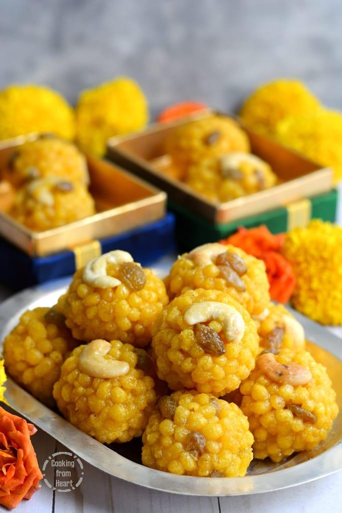 Perfect Boondi Laddu Recipe