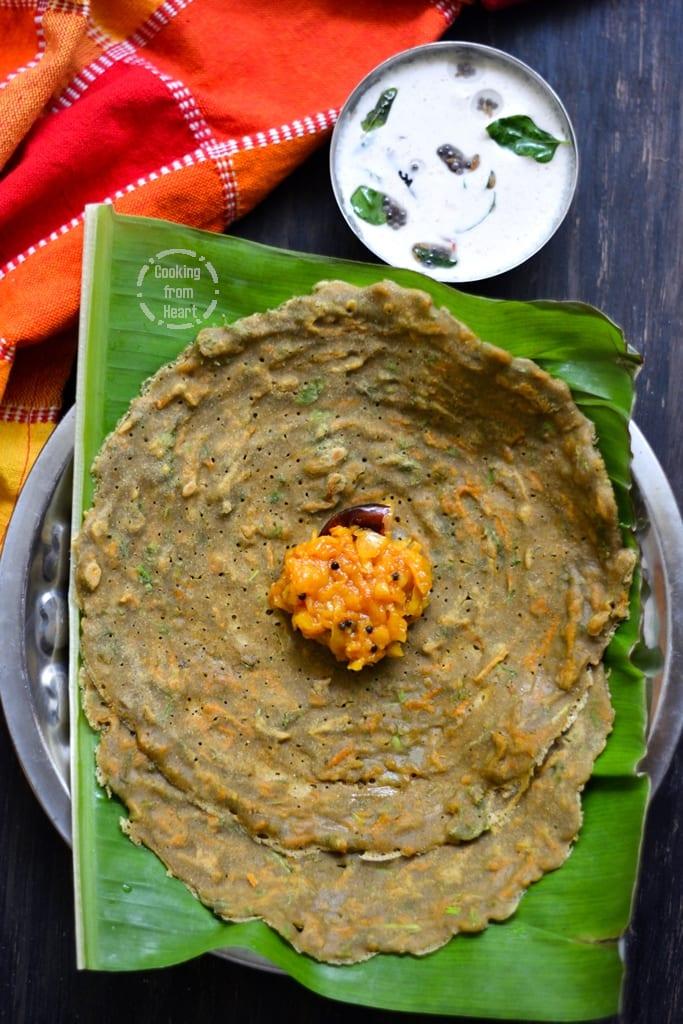Instant Gluten-Free Millet Adai