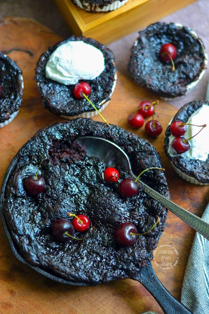Egg-free Self-Saucing Chocolate Pudding