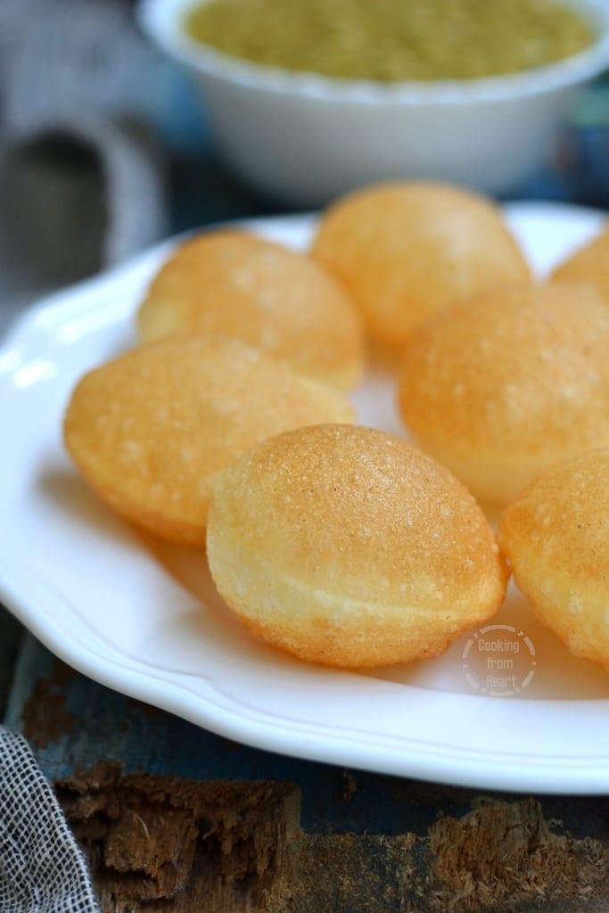 Puri Recipe for Pani Puri