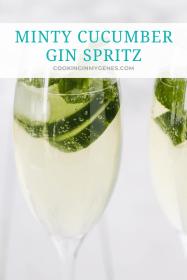Minty Cucumber Gin Spritz