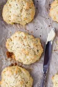 Easy Herb Drop Biscuits