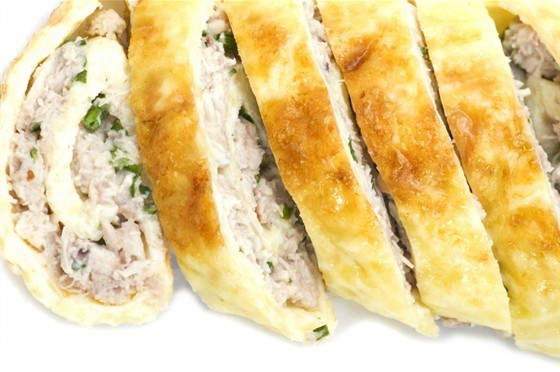 Chicken & Lavash roll