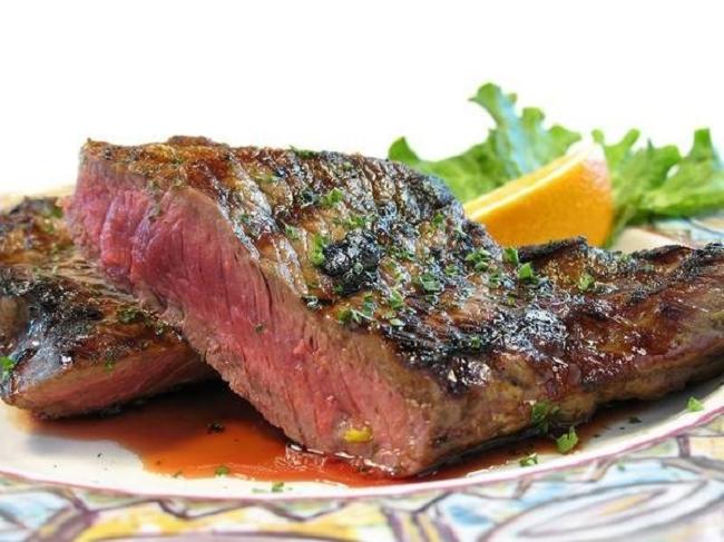 Australian steak with oysters