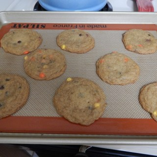 Gluten Free Chocolate Chip Reese's Pieces Cookies