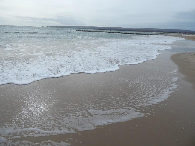 Beach in Dorset
