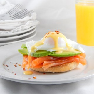 Eggs Royale with Avocado