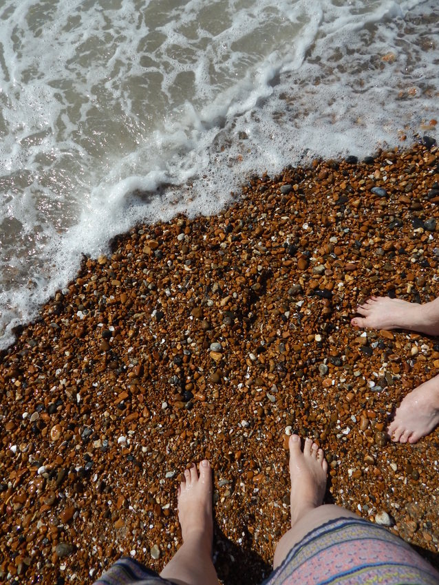 Feet in the Water