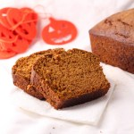 Pumpkin Bread + Domestic Chic Cookbook Review