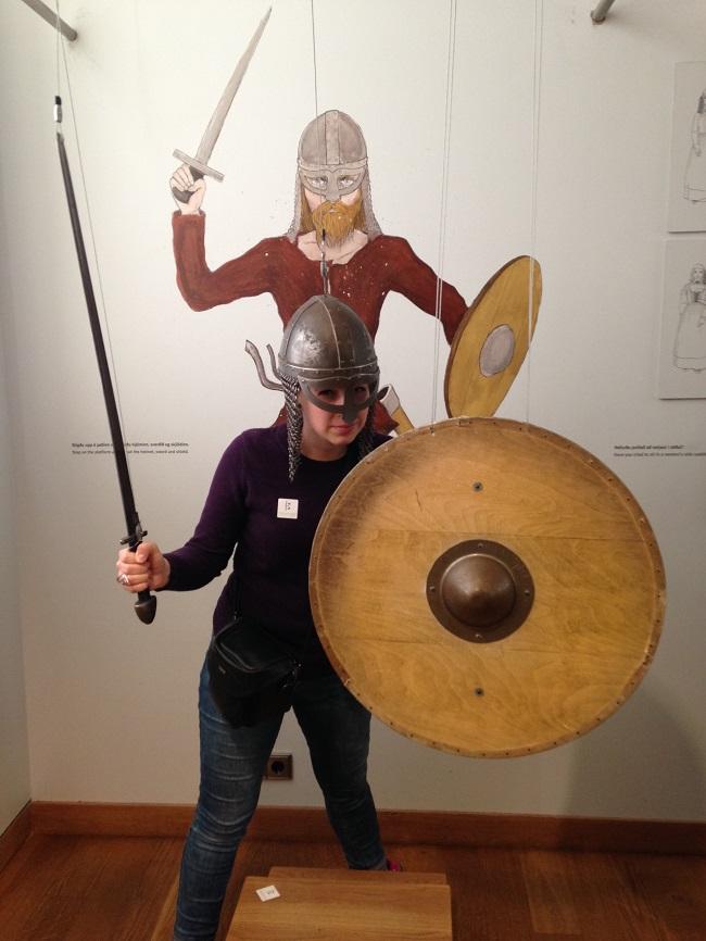 Mariel as Viking