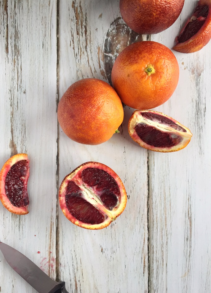Blood Oranges on iphone