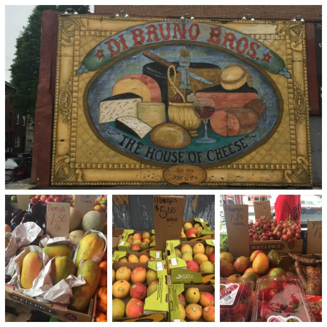 Italian Market in Philadelphia