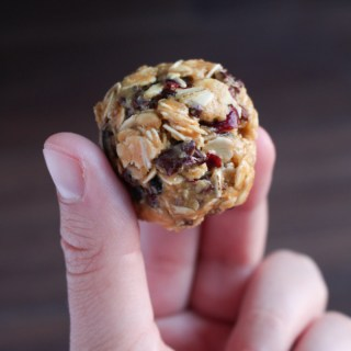 Oat and Peanut Butter Energy Bites