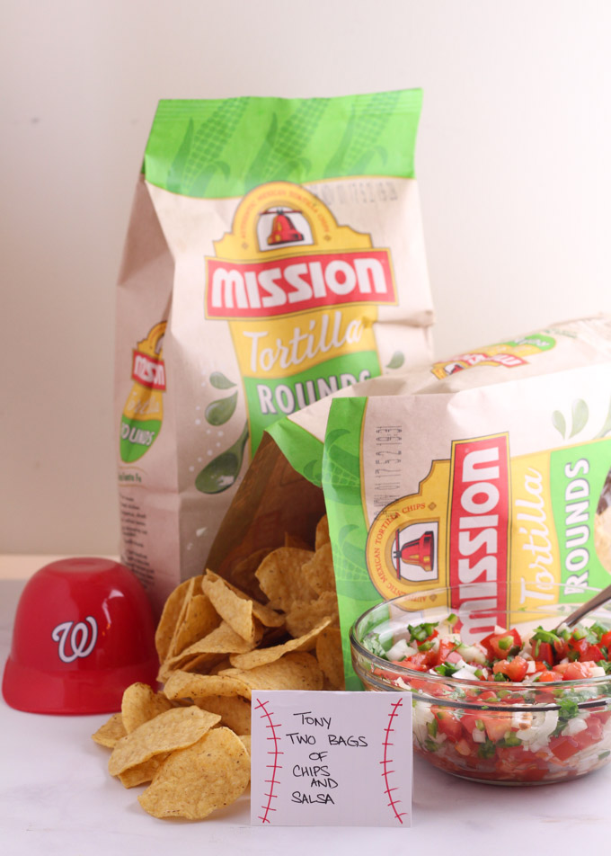 Tony Two Bags - Nationals Playoff Party Foods