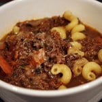 My Mother's Re-Recycled Meat Soup