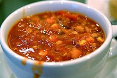 low fat vegetarian chili