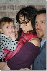 kimmi, BeBe and Hugh Laurie