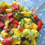 Mango Salsa with Coriander and Lime