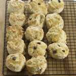 Scones from Kosher by Design by Suzie Fishbein
