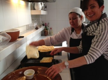 Riad cooking class