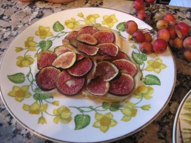 Chef Gaultier's fig tart