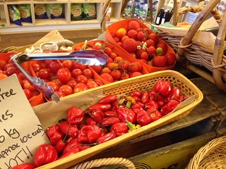 Fresh local tomatoes