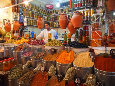 Spice shop selling tangiers