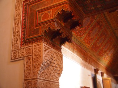 Ceilings and walls all beautifully adorned