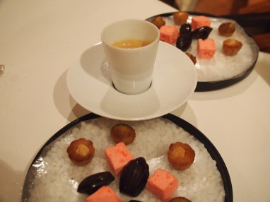 Some of the petit fours