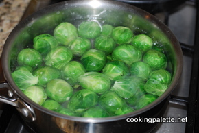 brussel sprouts in creamy mustard sauce (1)