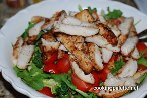 chicken veg salad with israeli cous cous or orzo (17)