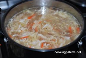schi with souerkraut and mushrooms (5)