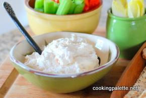 vegetable cream cheese dip (11)