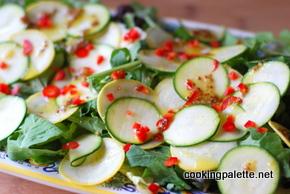 zucchini carpaccio  (8)