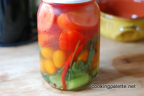 quick salted tomatoes and pickles  (4)