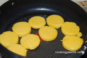 polenta cake with caponata (2)