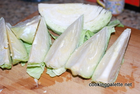 cabbage in creamy mustard sauce (1)